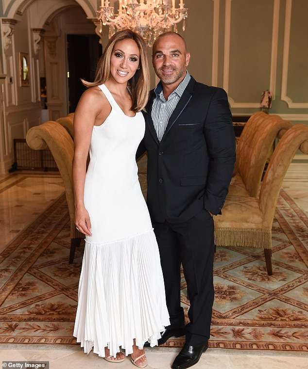 'We've done very good for 11 years. We're a great couple. We try really hard. We fight really hard for our family and it's not easy to be on reality TV for 11 years and still stand strong.' the RHONJ star said