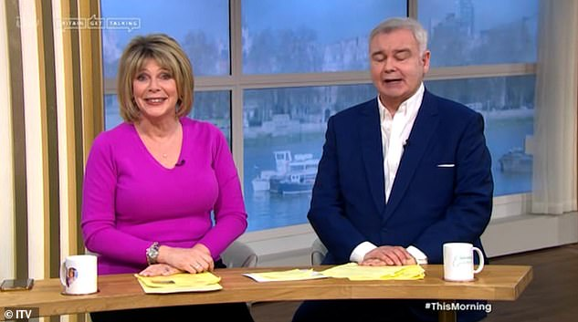 They're back! Ruth and Eamonn returned to This Morning on Monday for the first time since they were axed from their Friday slot