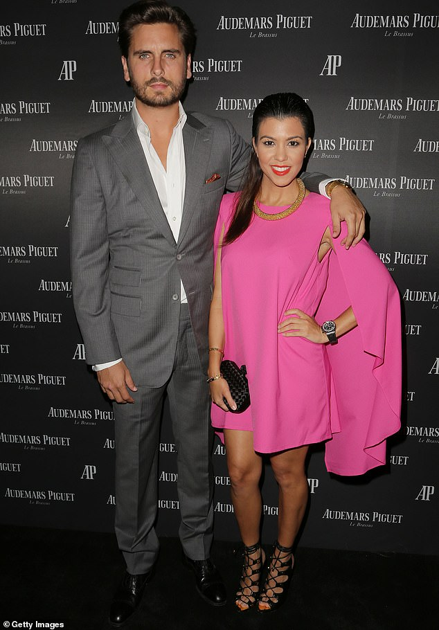 The way they were:Scott Disick is not experiencing any envy over Kourtney Kardashian's rumored relationship with Travis Barker; Kourtney and Scott are pictured in 2013