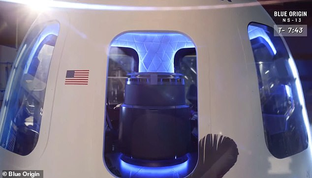 The capsule's reaction control thrusters would generate a spin amounting to 11 rotations per minute during the free-fall phase of the flight, which NASA says would produce a centripetal force equivalent to the moon's gravity