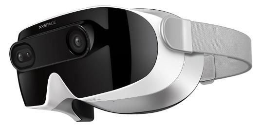 The XRSPACE MANOVA VR headset