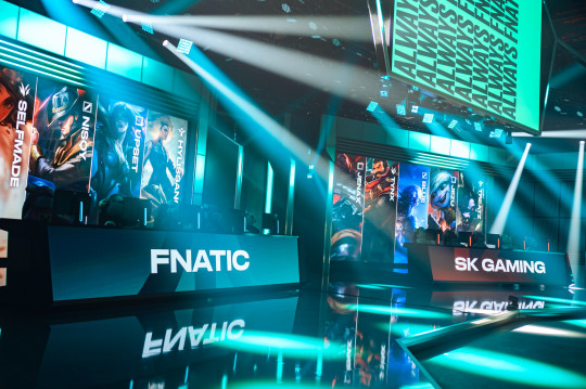 A picture of the LEC stage