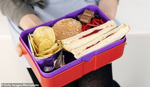 Sent packing: Prue wants to end the school packed lunch and encourage sit-down meals. ¿Treats are no longer seen as a treat ¿ they¿re an essential,¿ she says