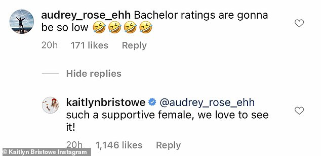 Low ratings: Another tried to be petty and say that ratings would be so low