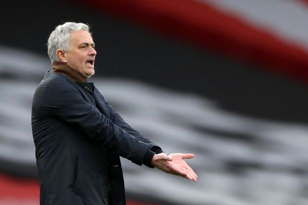 Mourinho sent out his side to sit back and hit on the break