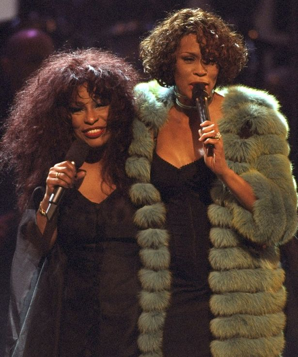Chaka Khan hit out when the party still went ahead