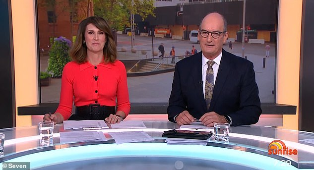 She fits right in! Natalie temporarily replaced Samantha on the Sunrise panel on Friday - just one day after the former host bid farewell to the breakfast program