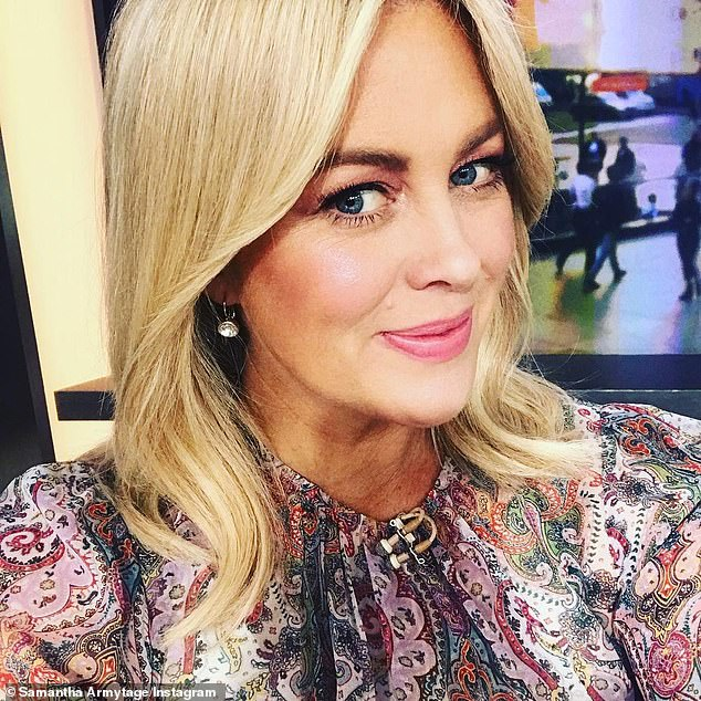 New focus: She had announced her resignation live on air on Monday, saying she wanted to step back from TV to spend more time with her family