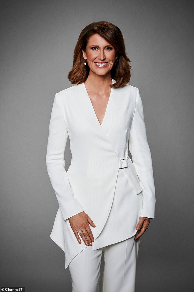 It's official! Newsreader Natalie Barr, 52, (pictured) has been confirmed as Samantha Armytage's permanent replacement on Channel Seven's breakfast show Sunrise