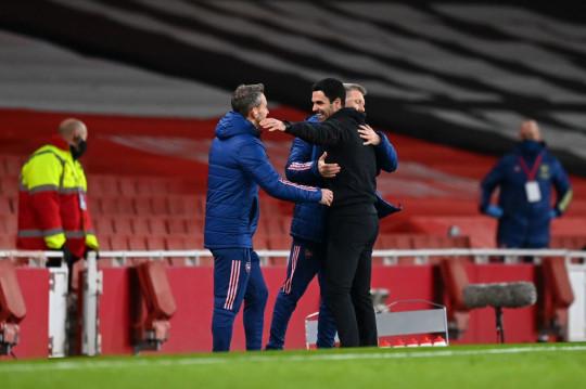 Mikel Arteta Arsenal v Tottenham Hotspur - Premier League
