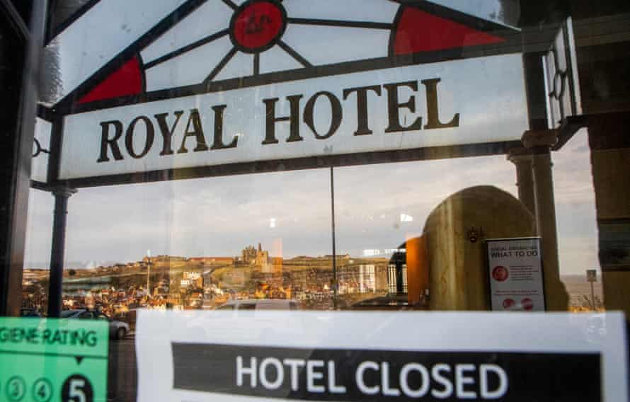 The Royal Hotel remains closed in Whitby.