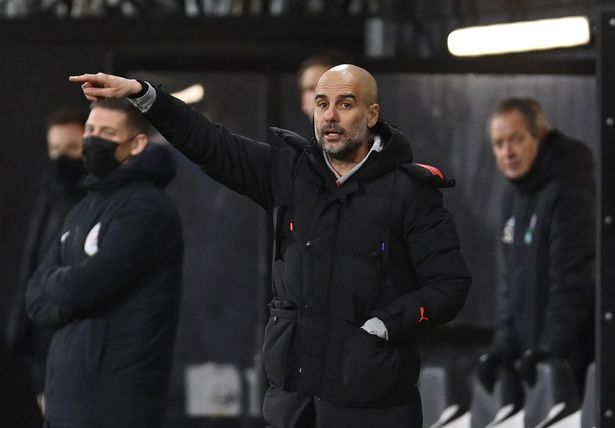 Guardiola has warned there will be more rotation to come in the future