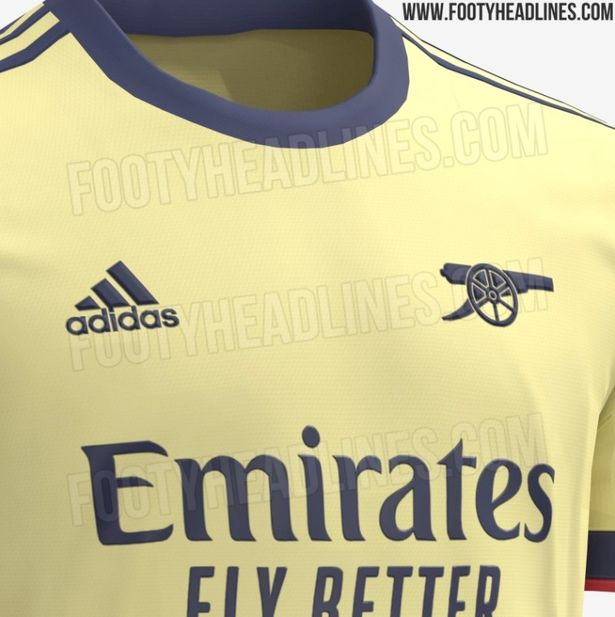 The Gunners have followed a similar style to their kits from '71 and '89