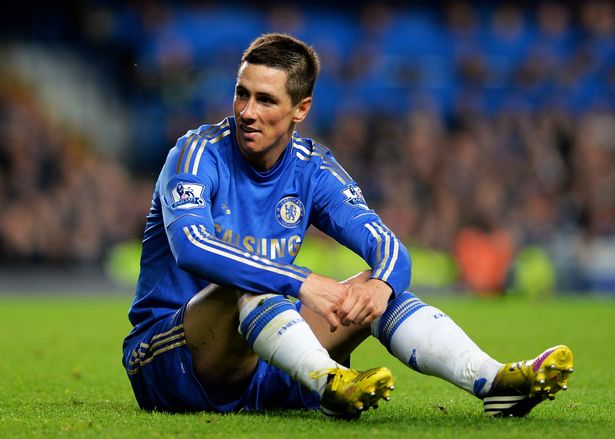Fernando Torres moved to Chelsea for £50million but struggled at Stamford Bridge