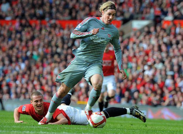 Nemanja Vidic described Fernando Torres as one of his toughest opponents