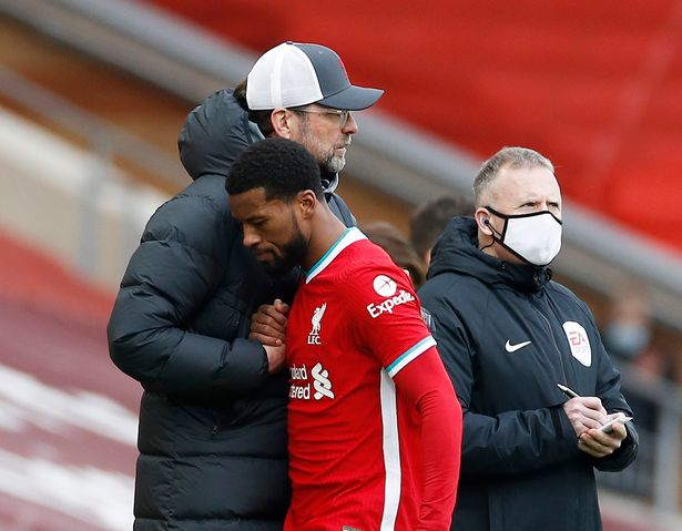 Gini Wijnaldum looks set to leave Liverpool unless he receives a better contract offer from the club