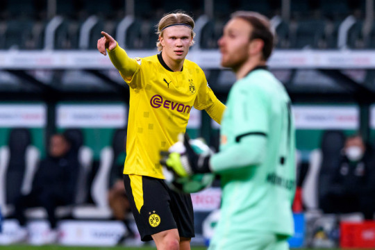 Haaland is rated as one of the best players in Europe