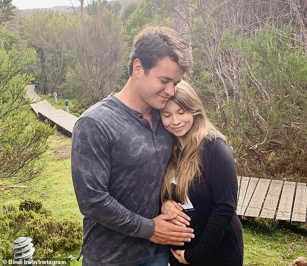 'Baby Wildlife Warrior due 2021. Chandler and I are proud to announce that we're expecting!' she wrote on Instagram at the time