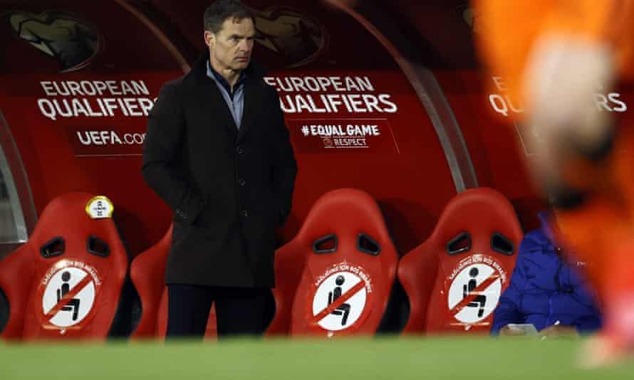 The Netherlands coach Frank de Boer.