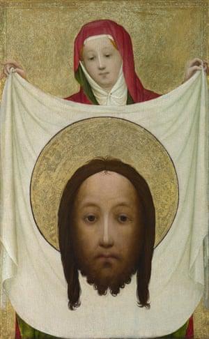 Saint Veronica with the Sudarium, c1420.