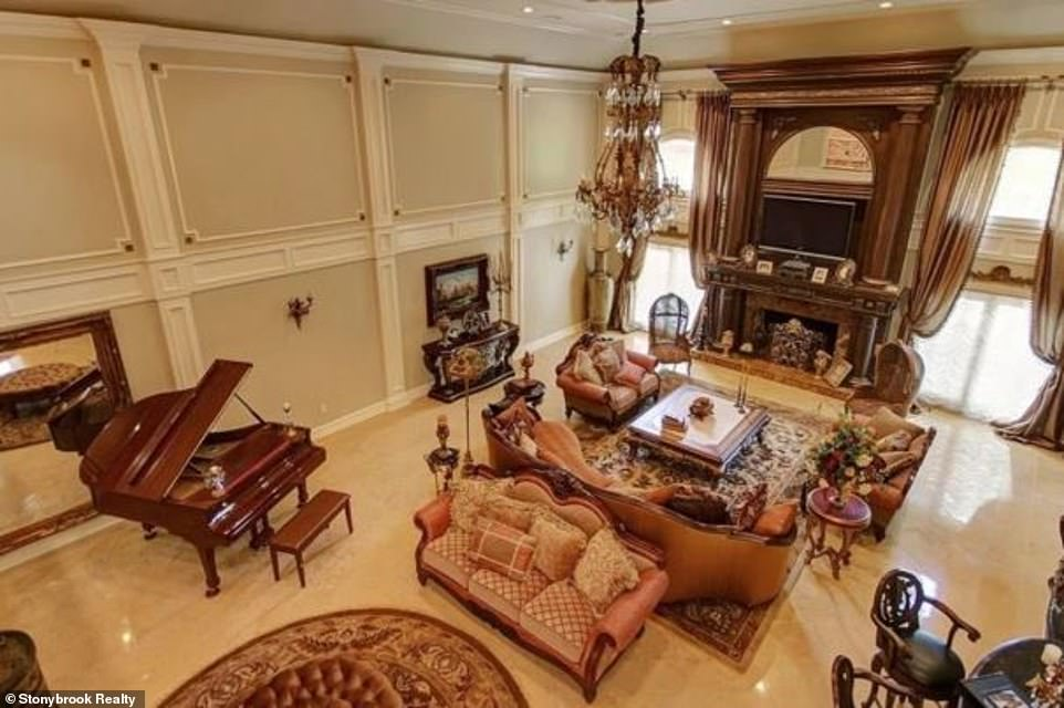 History:They first listed the home in 2014 for nearly $5 million according to Realtor.com and marked it down twice over the following few months but it did not sell
