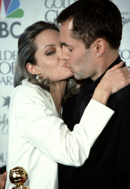 It's been 21 years since Angelina Jolie's Oscar kiss with her brother James Haven
