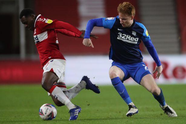 Preston signed Sepp van den Berg from Liverpool in January