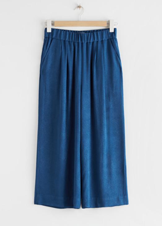 Printed High Waist Culottes