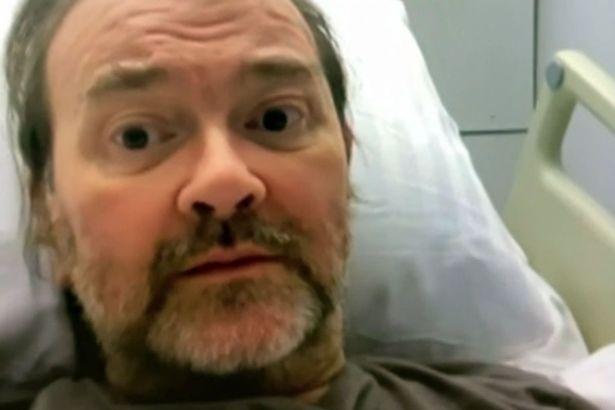 Derek is still in hospital after he contracted coronavirus