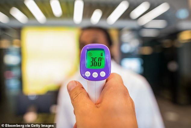 Last year, scores of businesses, from fitness facilities and salons to pubs, restaurants and offices, required anyone who entered to have their temperature taken