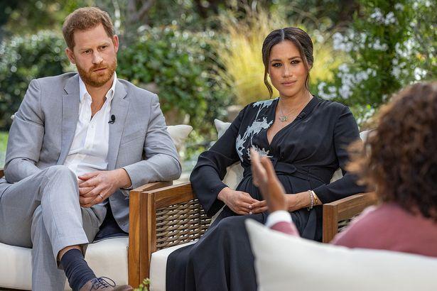 Oprah Winfrey interviews Prince Harry and Meghan Markle