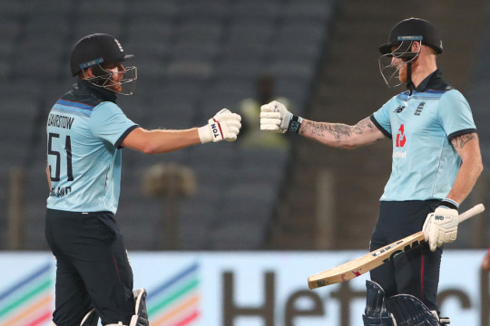 Bairstow and Ben Stokes powered England to victory in the second ODI