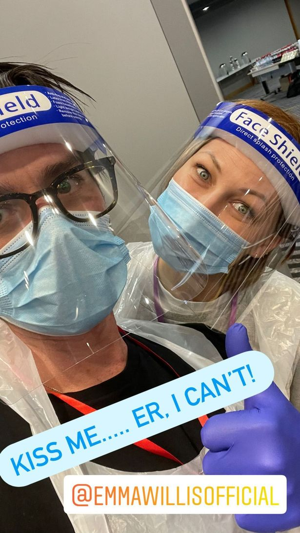 The couple can't wait to get stuck in and help with the Covid-19 vaccine efforts