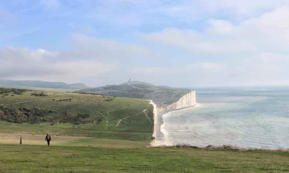 A classic view of the Seven Sisters close to Birling Gap.