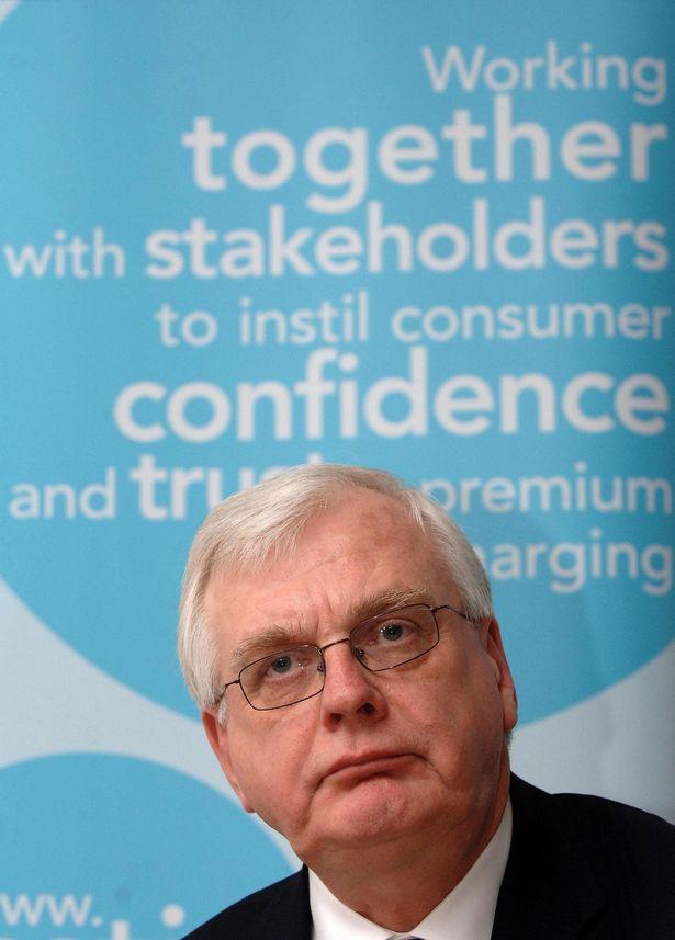Sir Alistair Graham, chairman of premium-rate phone regulator Icstis