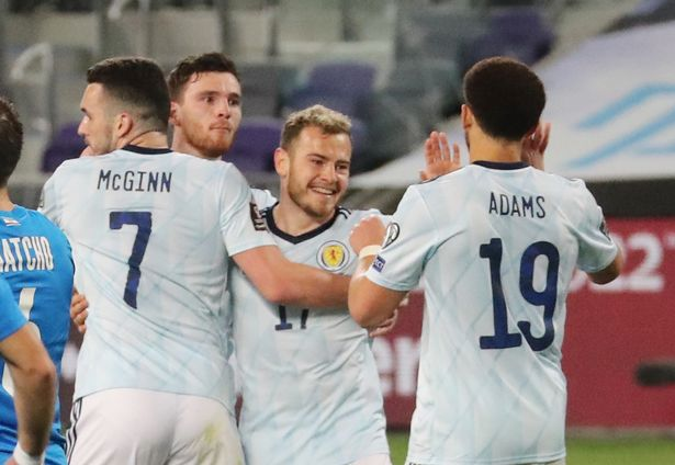 Ryan Fraser scored for Scotland but couldn't help his side to victory in Israel