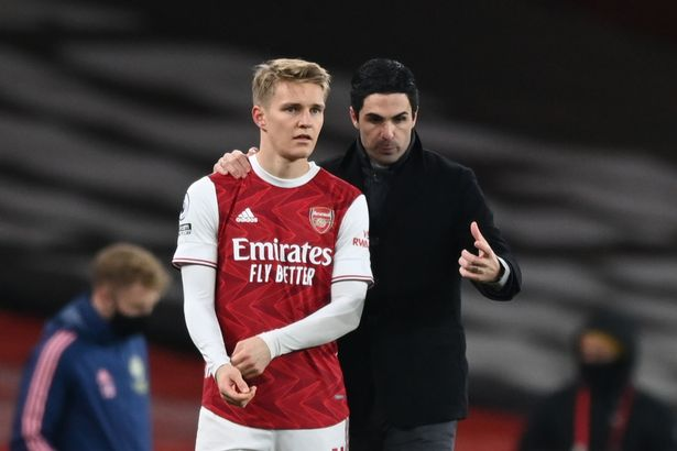 Martin Odegaard has been a quality addition for Arsenal but the Gunners' top-four hopes are fading fast