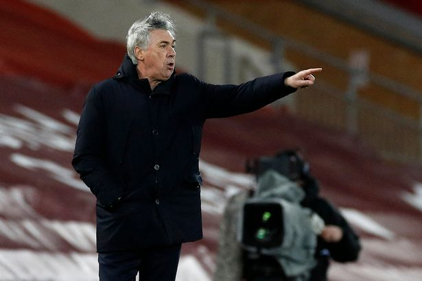 Carlo Ancelotti's Everton could yet have a say in the top-four race