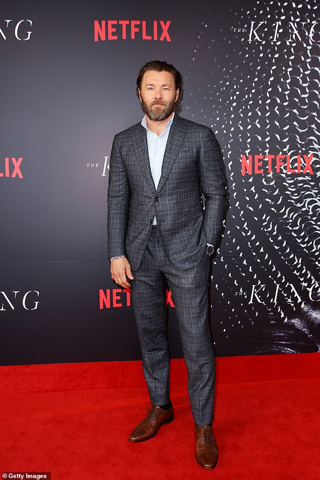 Joining the cast: Joel Edgerton was among the many cast members revealed Monday