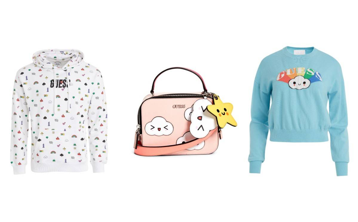 Guess collaborates with FriendsWithYou on capsule collection