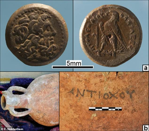 Coins, amphora, and other objects in the remains of a newly discovered well date the desertion of Hellenistic Berenike to the tail end of the third century BC