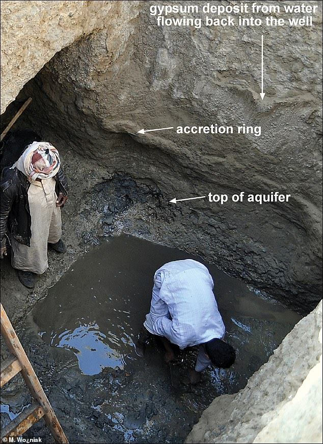 Evidence at the newly discovered well at Berenike suggests the city was abandoned in the late third century BC because of a multi-year drought caused by a volcanic eruption in 209 filling the stratosphere with sulphuric gas and ash and altering the climate