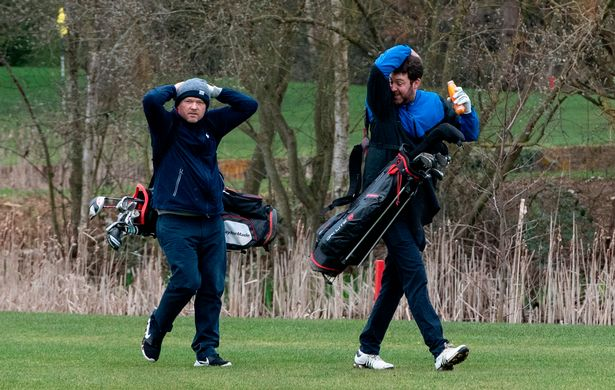 Golfers return to the courses today as restrictions on outdoor sports are lifted
