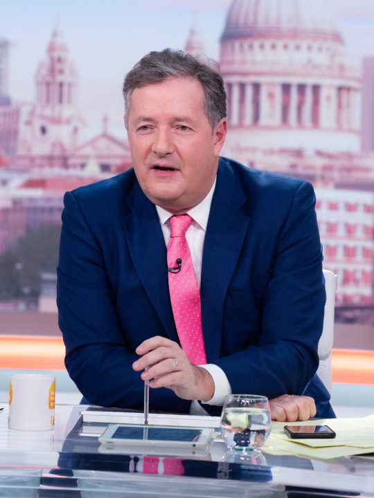 Piers left GMB following his comments on Meghan Markle (Picture: REX)