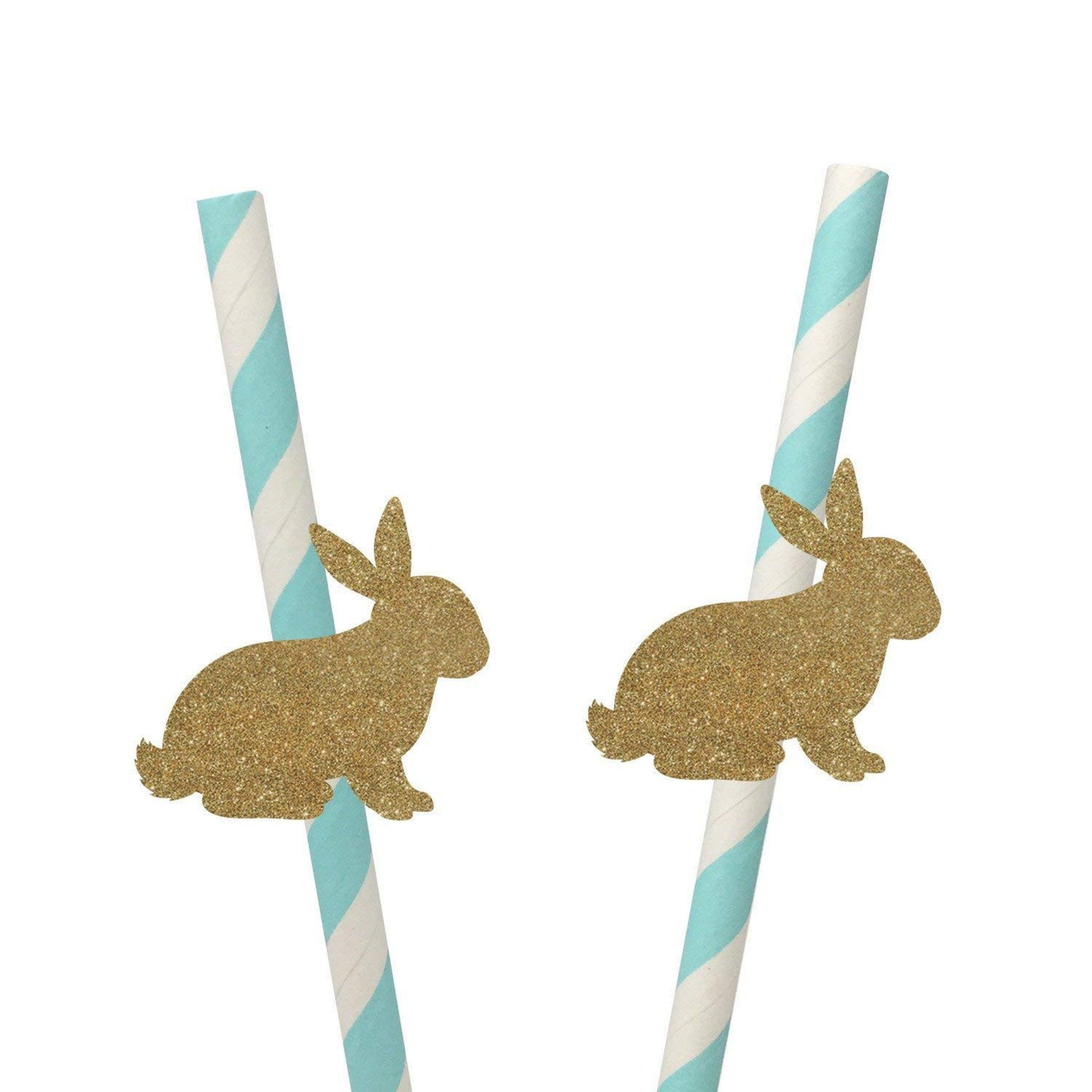 Bunny Straws Amazon Handmade