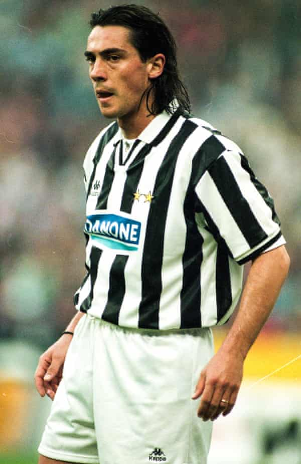 As a player, Paulo Sousa won two Champions League titles, while at Juventus (pictured) in 1996 and Borussia Dortmund in 1997.