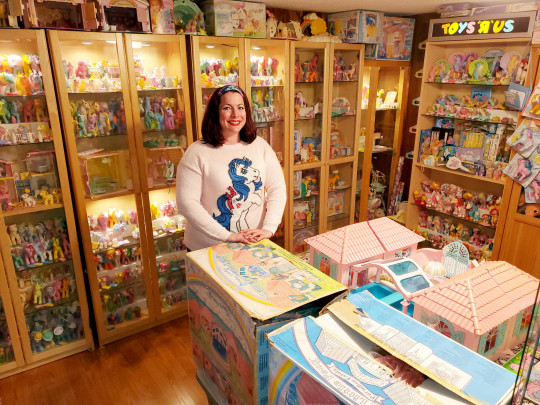 My Little Pony super fan Stephanie Nasello has in her collection 4,500 toy horses worth an estimated $80,000