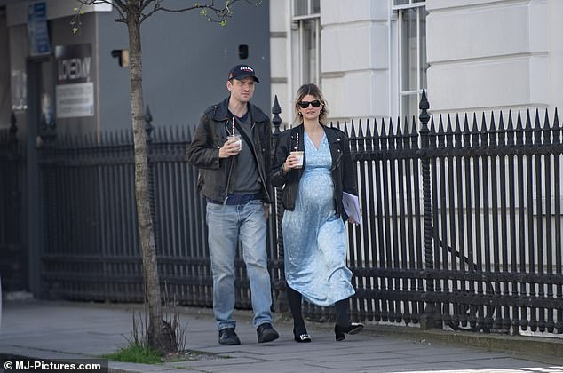 Pixie has been married to These New Puritans drummer George Barnett since 2017, when the couple tied the knot in a lavish ceremony in Majorca, with the bride arriving in a bus.