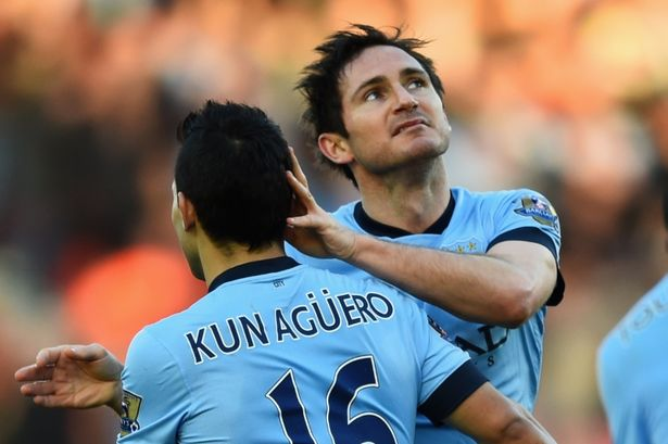 The Argentine picked out Lampard - who he would later play alongside for City - for praise