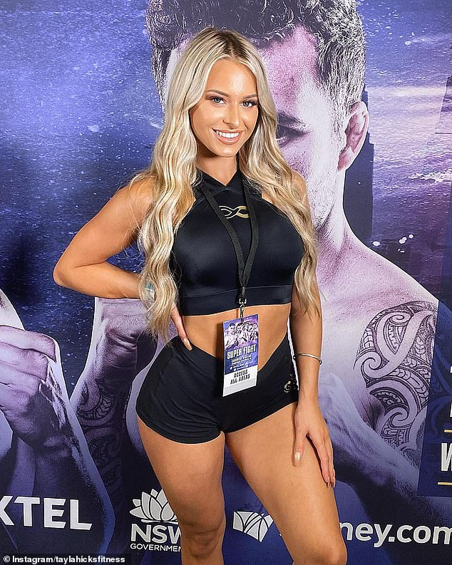 Popular: Tayla, a 19-year-old fitness model and online health coach, boasts 36,000 followers on Instagram
